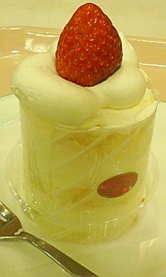不二家でケーキ〜♪