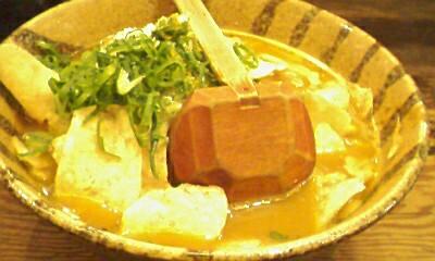 味噌味のカレーラーメン
