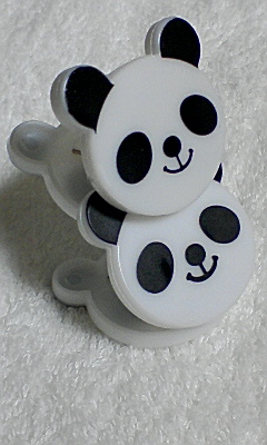 パンダちゃんクリップもらったんだょ